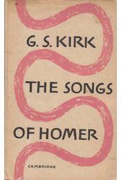 The Songs of Homer - G. S. Kirk - Régikönyvek