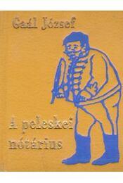 A peleskei nótárius - Gaal József - Régikönyvek
