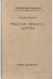 Magyar-spanyol szótár - Gáldi László - Régikönyvek