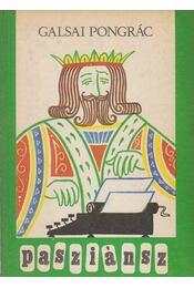 Pasziánsz - Galsai Pongrác - Régikönyvek