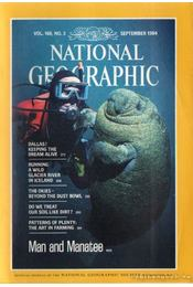 National geographic 1984 September - Garrett, Wilbur E. - Régikönyvek