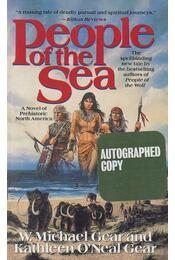 People of the Sea (aláírt) - Gear, Kathleen O'Neal, Gear, Michael W. - Régikönyvek