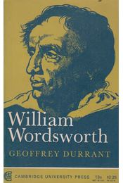 William Wordsworth - Geoffrey Durrant - Régikönyvek