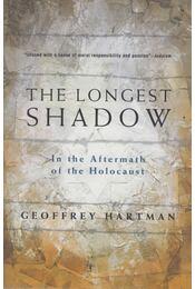 The Longest Shadow - Geoffrey Hartman - Régikönyvek