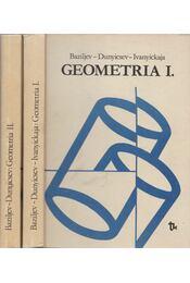 Geometria I-II. - Baziljev, V. T., Dunyicsev, K. I., Ivanyickaja, V. P. - Régikönyvek