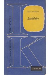 Baudelaire - Gera György - Régikönyvek