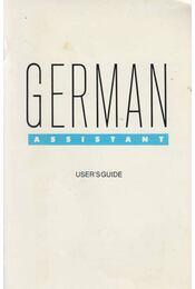 German Assistant - Régikönyvek
