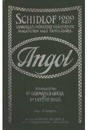 Schidlof 1000 szó gyakorlati módszere világnyelvek magánúton való tanulására - Angol - Germanus Gyula, Dr. Latzkó Hugó - Régikönyvek