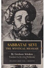 Sabbatai Sevi - Gershom Scholem - Régikönyvek
