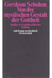 Von der mystischen Gestalt der Gottheit - Gershom Scholem - Régikönyvek