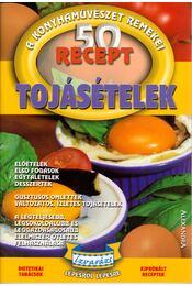 Tojásételek - 50 recept - Giovanna Magi - Régikönyvek