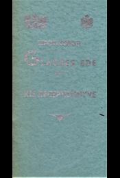 Glasner Ede R.T. sütő- és tápszergyára Budapest V., Lipót-kőrut 6. sz. (kis receptkönyve). - Glasner Ede - Régikönyvek