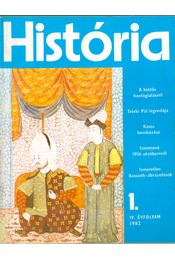 História 1982/1. - Glatz Ferenc - Régikönyvek