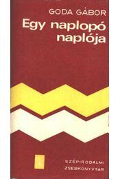 Egy naplopó naplója - Goda Gábor - Régikönyvek