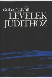 Levelek Judithoz - Goda Gábor - Régikönyvek