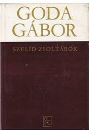 Szelíd zsoltárok - Goda Gábor - Régikönyvek