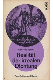 Realität der irrealen Dichtung - Goffredo Jommi - Régikönyvek