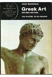 Greek Art - Boardman, John - Régikönyvek