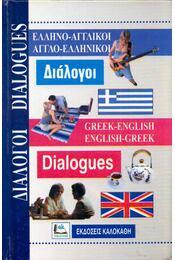 Greek-English, English-Greek Dialogues - Régikönyvek