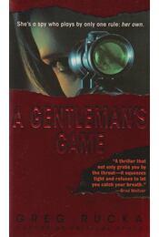A Gentleman's Game - Greg Rucka - Régikönyvek