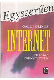 Egyszerűen Internet Windows környezetben - Grimes, Galen - Régikönyvek