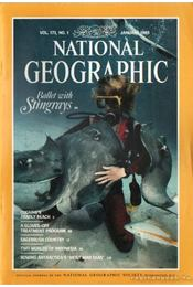 National geographic 1989 January - Grosvenor, Gilbert M. (főszerk.) - Régikönyvek