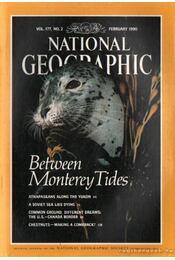 National geographic 1990 February - Grosvenor, Gilbert M. (főszerk.) - Régikönyvek