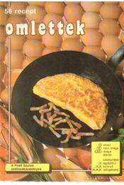 58 recept omlettek - Guignet, Florence - Régikönyvek