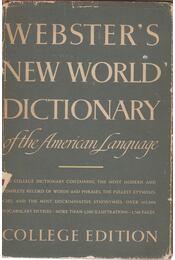 Webster's New World Dictionary of the American Language - GURALNIK, DAVID B. - Régikönyvek