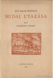 Egy falusi nótárius budai utazása - Gvadányi József - Régikönyvek