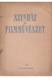 Színház és filmművészet 11. 1953. november - Gyárfás Miklós - Régikönyvek