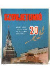 Húszéves a Szovjetunió (mini) - Gyáros László - Régikönyvek