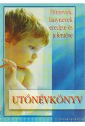 Utónévkönyv - Gyergyel István - Régikönyvek
