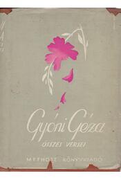 Gyóni Géza összes versei - Gyóni Géza - Régikönyvek