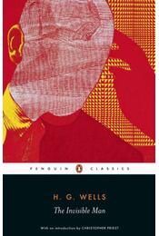 The Invisible Man - H.G. Wells - Régikönyvek