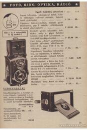 HAtschek és FArkas fotó optika rádió - Régikönyvek