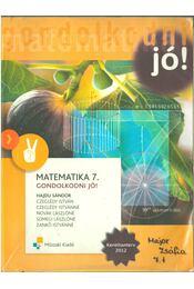 Matematika 7. - HAJDU SÁNDOR - Régikönyvek