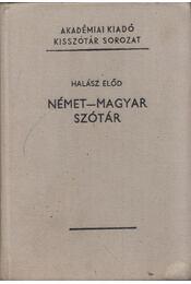 Német-magyar szótár - Halász Előd - Régikönyvek