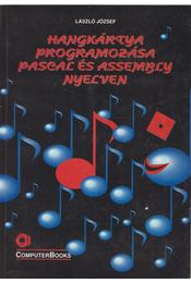Hangkártya programozása Pascal és Assembly nyelven - László József - Régikönyvek