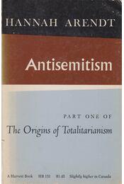 Antisemitism - Hannah Arendt - Régikönyvek