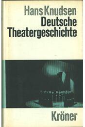 Deutsche Theatergeschichte - Hans Knudsen - Régikönyvek