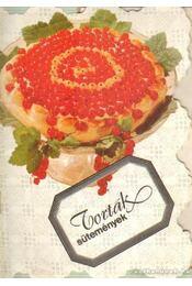 Torták, sütemények - Hargitai György - Régikönyvek