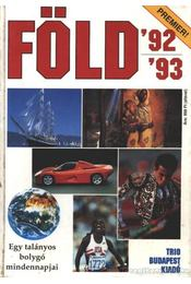 Föld 92/93 - Harle Tamás - Régikönyvek