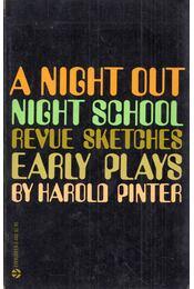 A Night Out / Night School / Revue Sketches - Harold Pinter - Régikönyvek