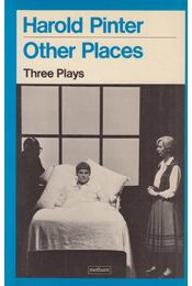 Other Places - Harold Pinter - Régikönyvek