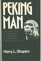 Peking Man - Harry L. Shapiro - Régikönyvek