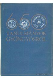 Tanulmányok Gyöngyösről - Havassy Péter, Kecskés Péter - Régikönyvek