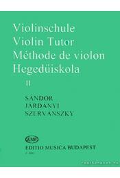 Hegedűiskola 2 - Járdányi Pál, Szervánszky Endre, Sándor Frigyes - Régikönyvek