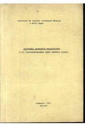 Szervezési javaslatok megvalósítása - Hegedűs Tibor - Régikönyvek