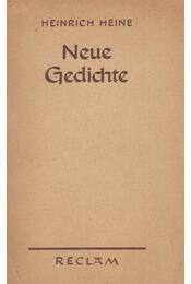 Neue Gedichte - Heine, Heinrich - Régikönyvek